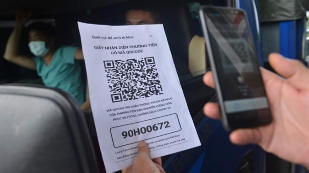 Thử QR Code của Bộ Công an thay Bộ GTVT