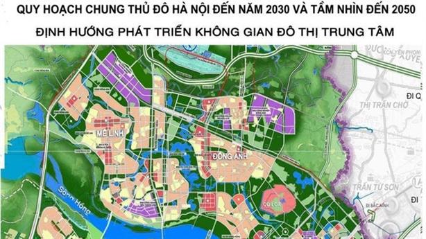 Hà Nội chỉnh tổng thể Quy hoạch chung xây dựng Thủ đô