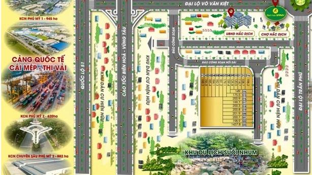 Bà Rịa-Vũng Tàu rà soát loạt dự án bất động sản
