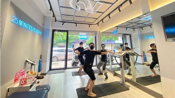Phòng gym hiếm hoi hoạt động bình thường sau chỉ thị 18