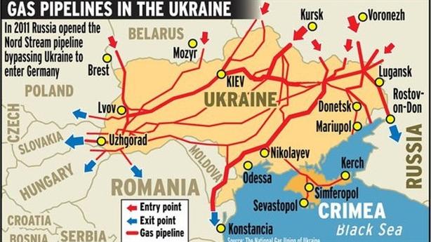 EU hứa bán khí đốt cho Ukraine nếu...cần thiết