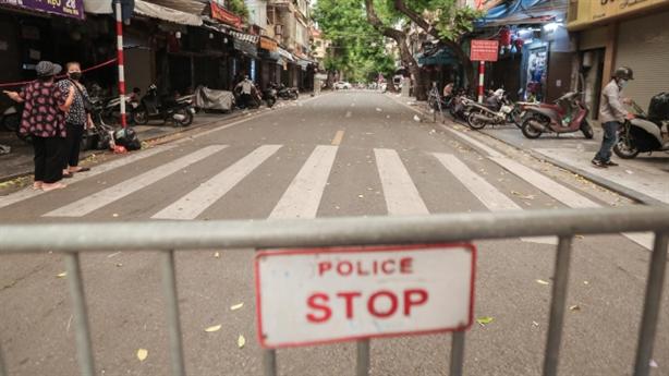 Về từ vùng dịch, F0 đi nhiều nơi ở Hà Nội