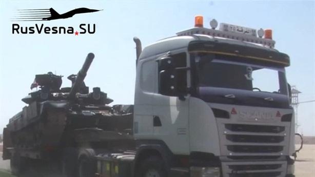 Khu vực những vũ khí hạng nặng của SAA tập kết nằm giữa thị trấn Tell Rifaat và Manbij phía bắc Aleppo - khu vực do các tay súng người Kurd được Thổ hậu thuẫn nắm giữ.