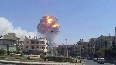 Syrya: Nổ lớn tại căn cứ SAA và căn cứ Mỹ