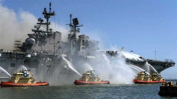 Kỷ luật 36 sĩ quan Mỹ vì thiếu kỹ năng cứu hỏa