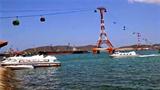 Cáp treo xuyên vịnh Hạ Long